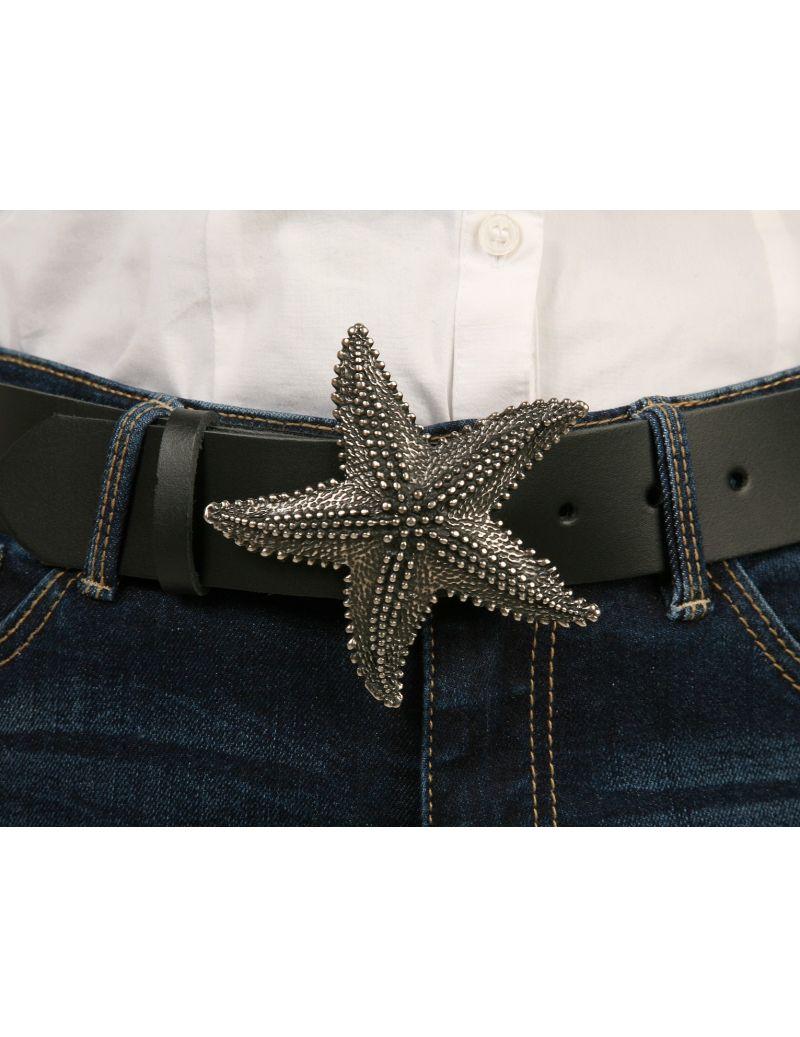 Fivela de cinto estrela do mar