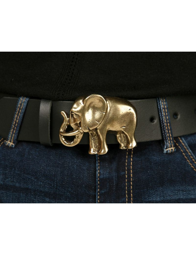 Small elephant beltbuckle